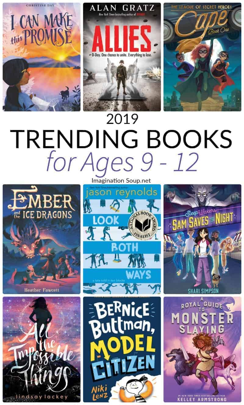 2019 Trending Books for Ages 9 - 12