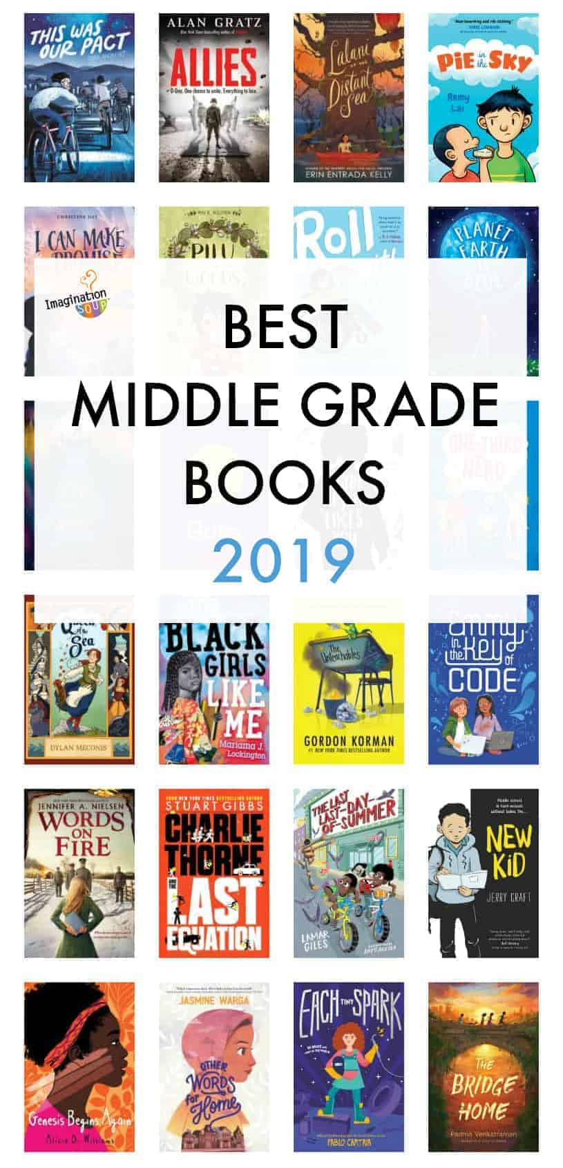 best middle grade chapter books and graphic novels, 2019