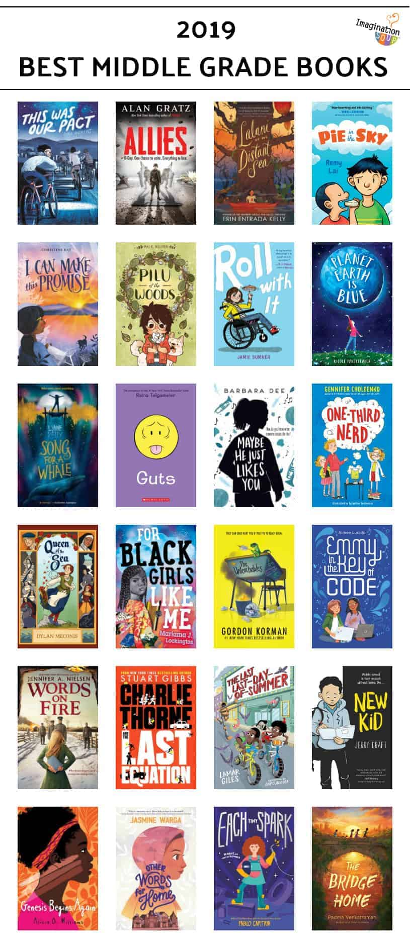 2019 best middle grade chapter books and graphic novels