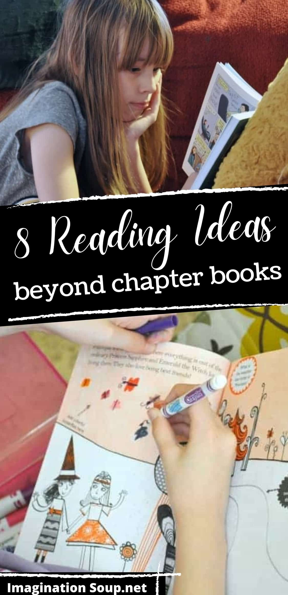 8 reading ideas for kids beyond chapter books