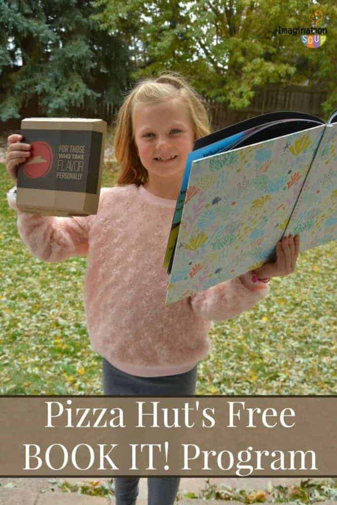 Pizza Hut's BOOK IT! Program Lets Kids Earn Pizza for Reading