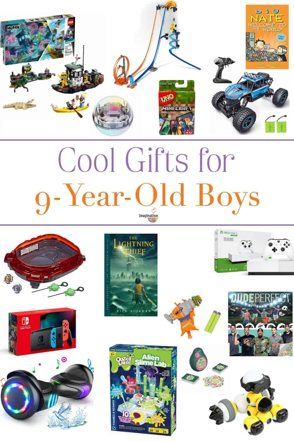 cool gifts for 9 year old boys