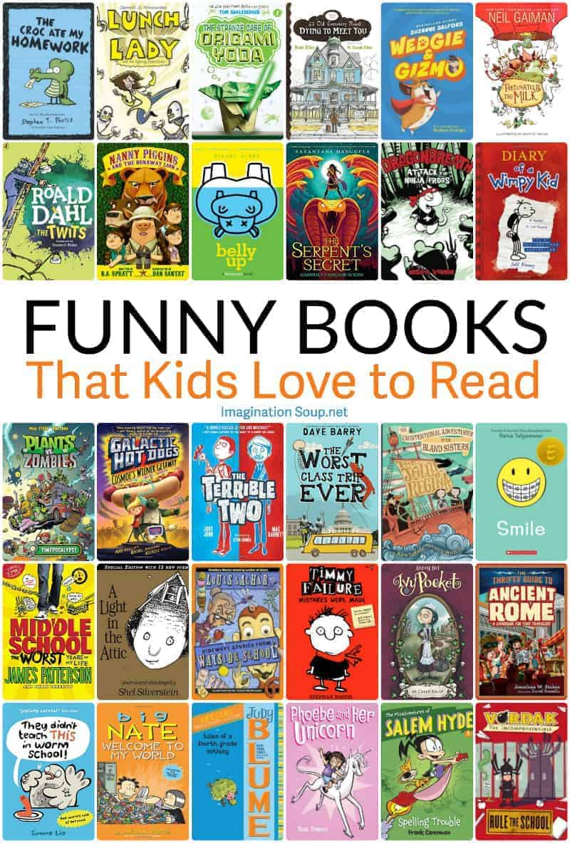 funny chapter books that hook kids on reading