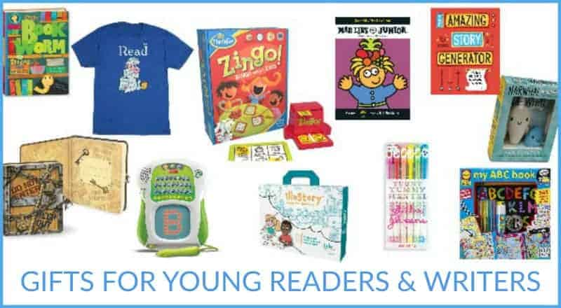 gifts for young readers and writers