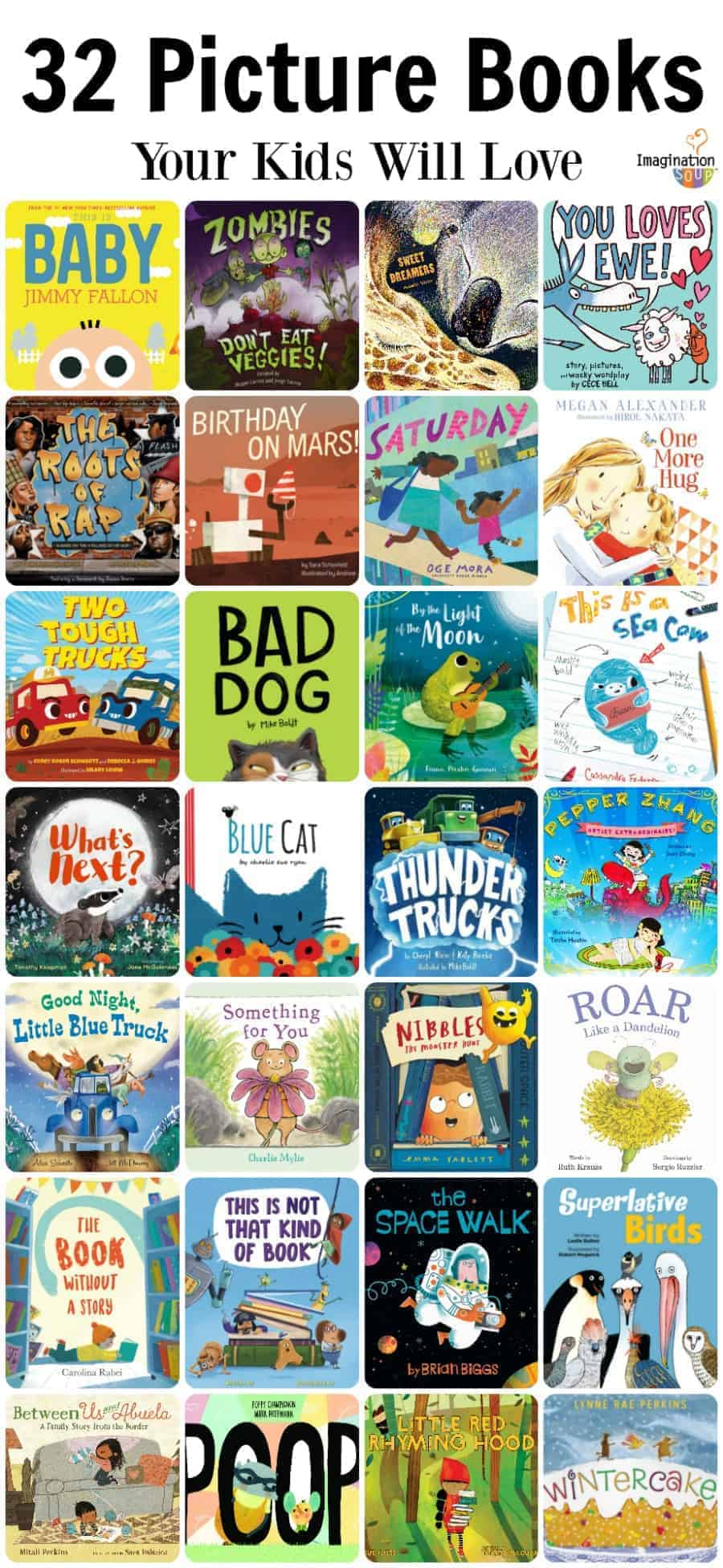 32 picture books your kids will love