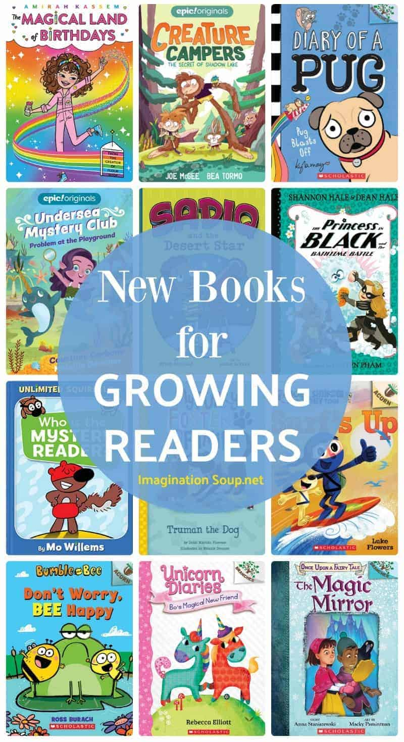 New Books for Growing Readers Ages 5 - 8 (2019)