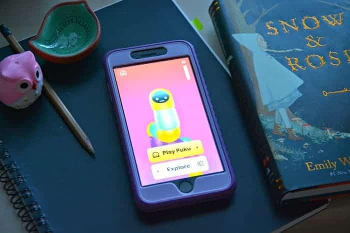 Puku vocabulary building app for kids