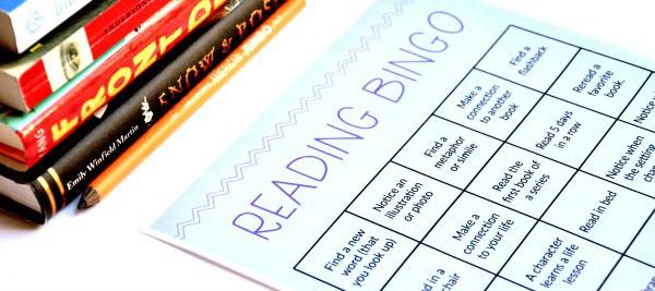 Reading Bingo for Kids