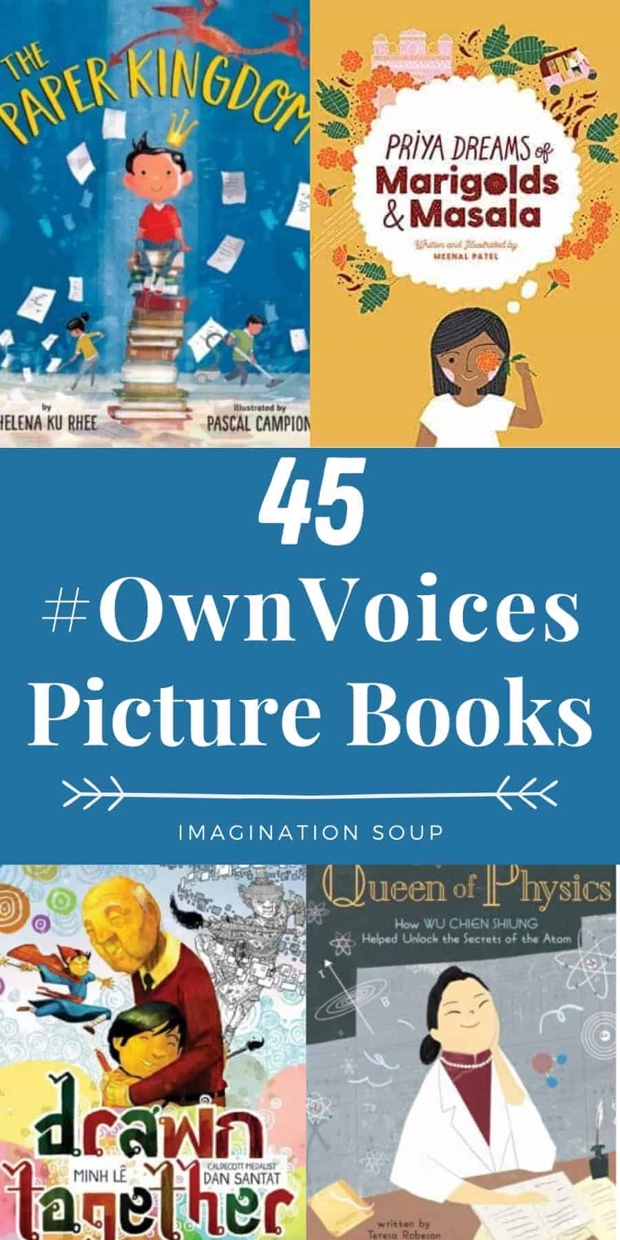 45 favorite #ownvoices diverse picture books