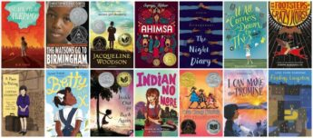 Diverse Historical Fiction Chapter Books by #OwnVoices