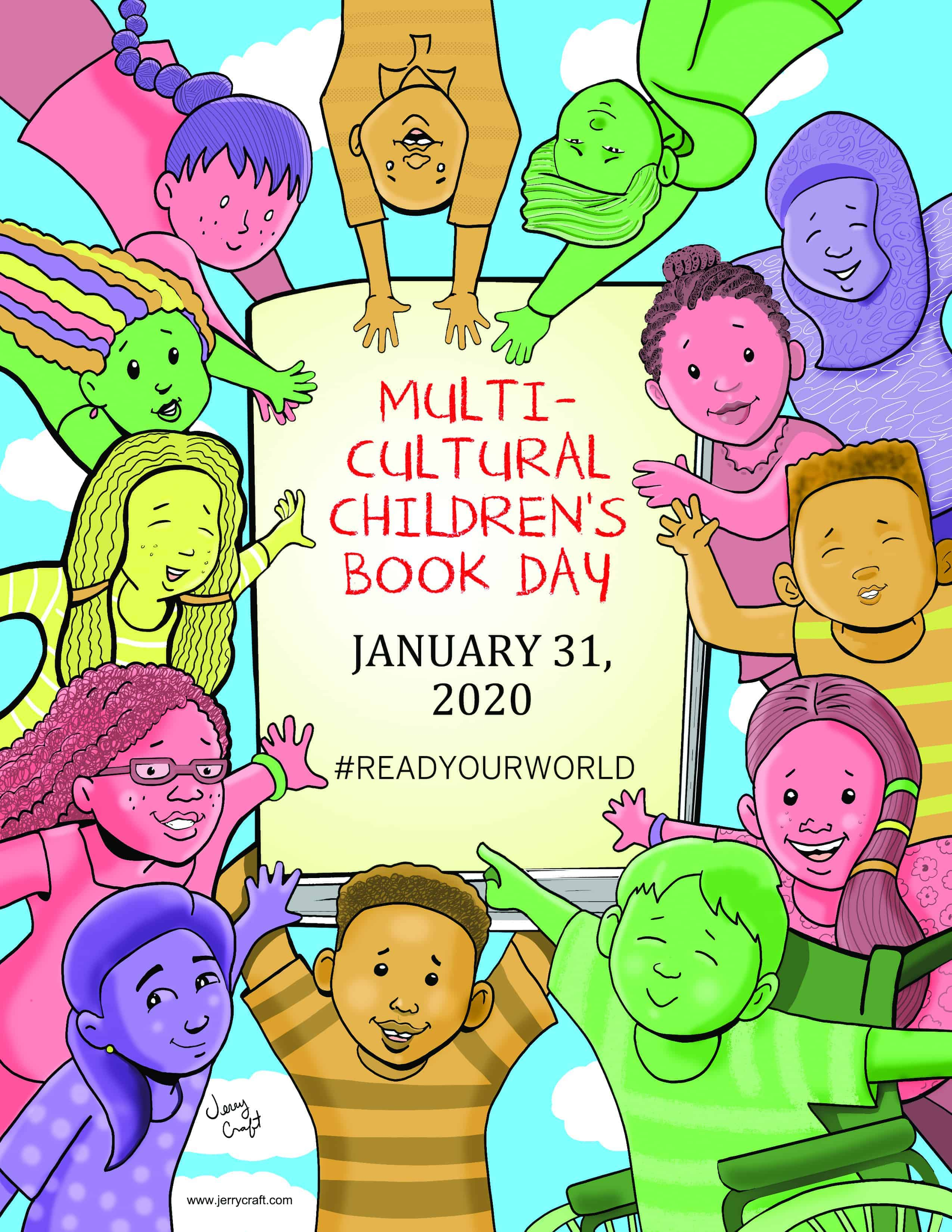 MultiCultural Childrens Book Day 2020