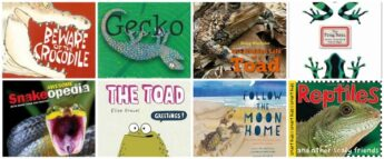 Riveting Picture Books About Reptiles and Amphibians