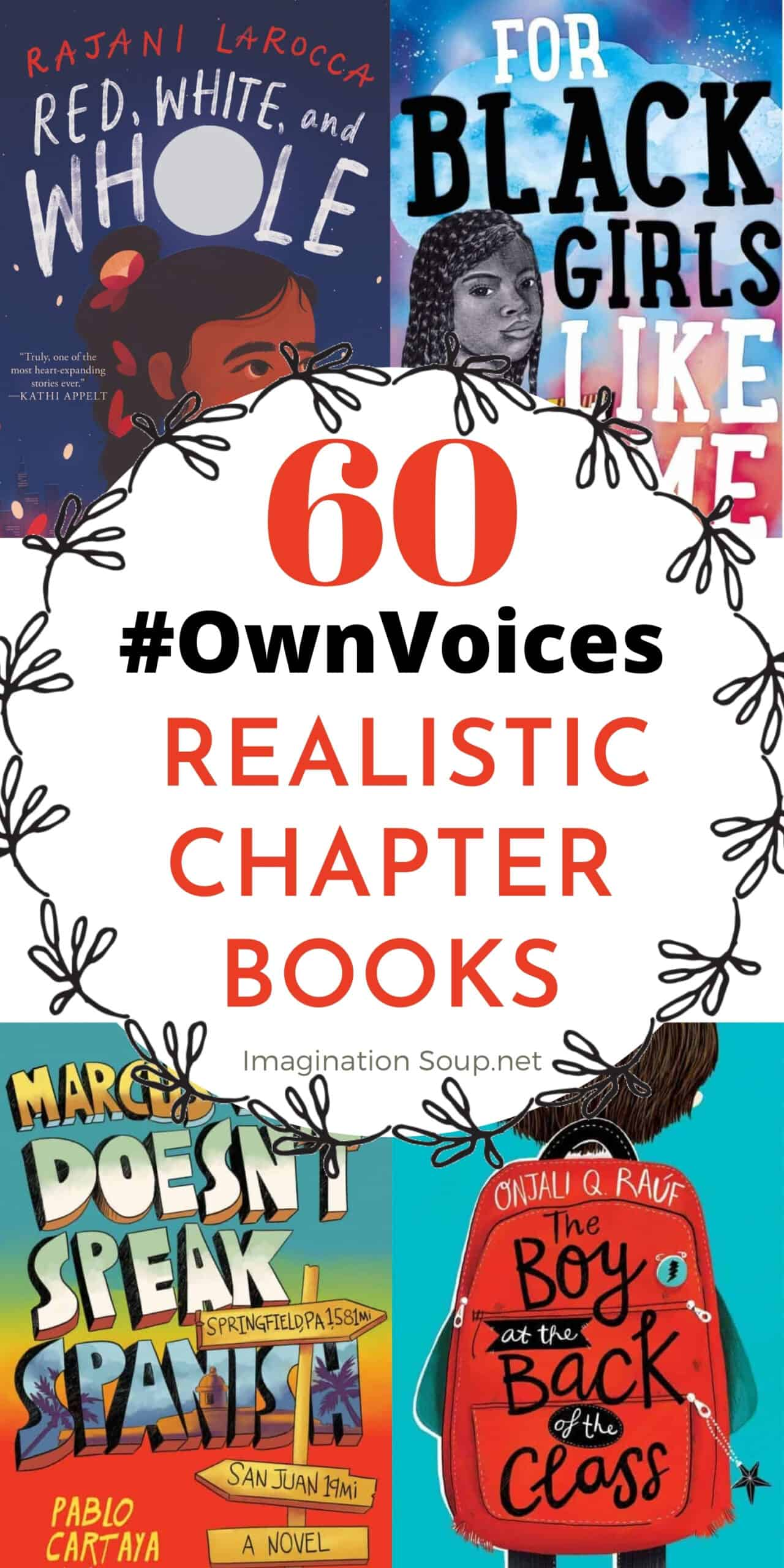 Realistic #OwnVoices Chapter Books