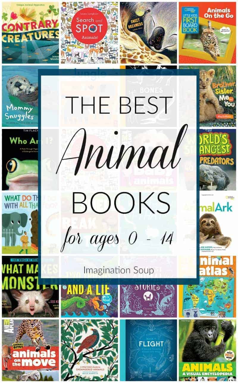 Wonderful Children's Books About Animals (For Ages 0 - 14)