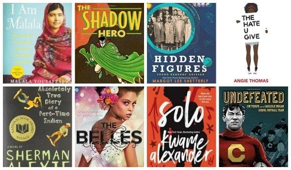 diverse YA books for teenagers