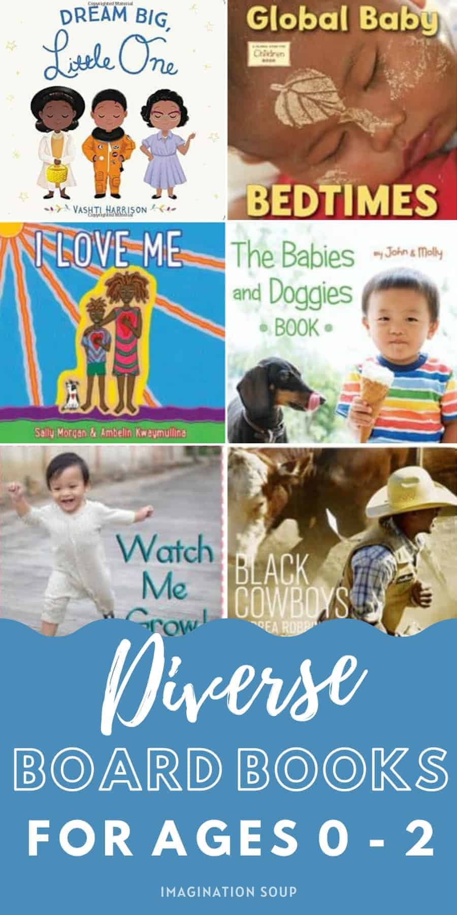 diverse board books for babies and toddlers
