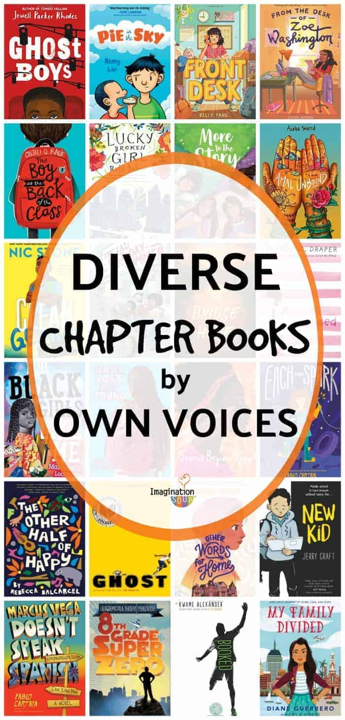 Excellent diverse chapter books for ages 9 - 12 by OwnVoices