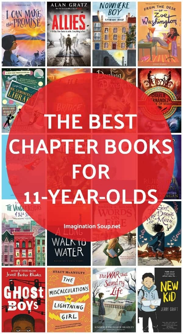 Get your kids to read! Find the best chapter books for 11 year olds with reviews and genres.