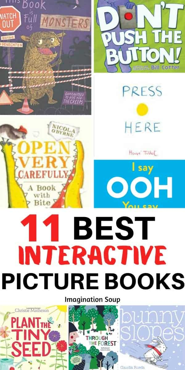 11 best interactive picture books for toddlers, preschoolers, and elementary kids