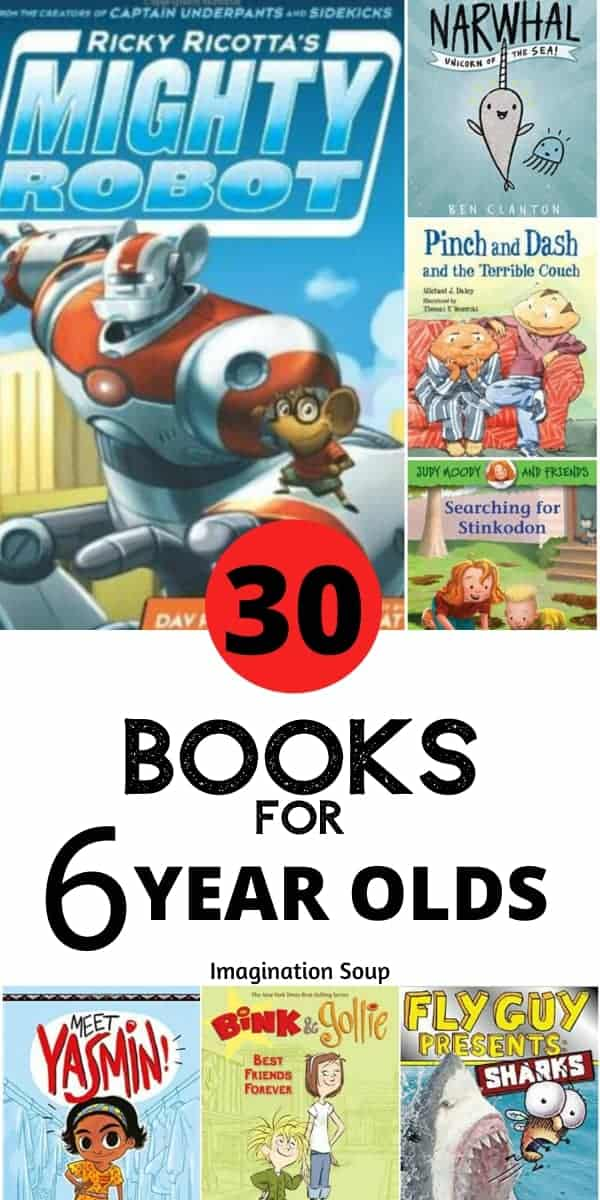 30 easy beginning chapter books for 6 year olds