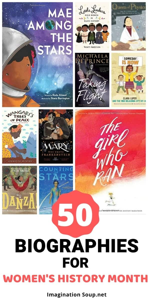 biographies for kids for women's history mont