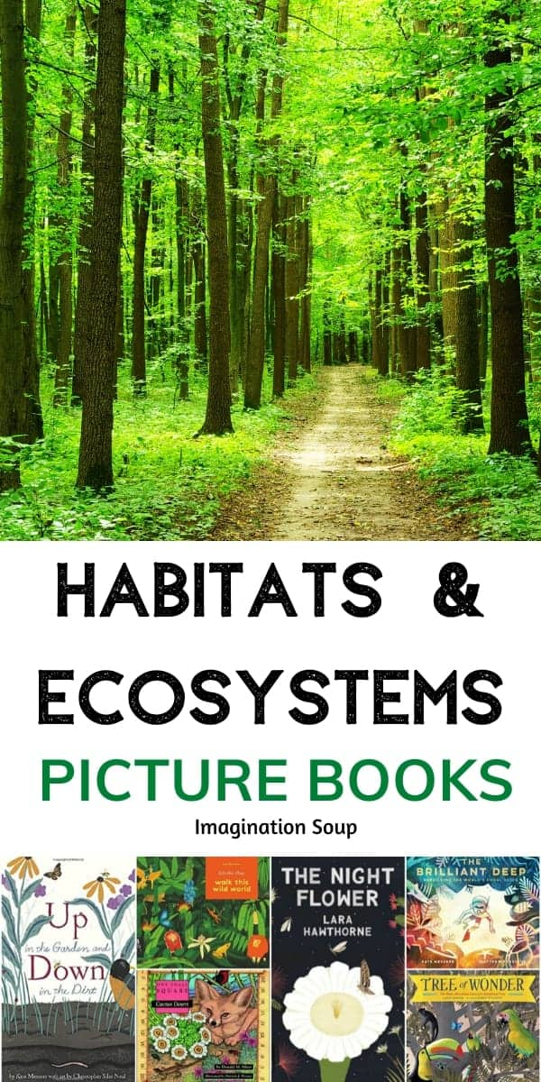 books for kids about habitats and ecosystems