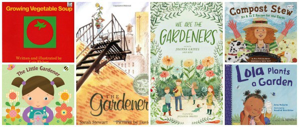 children's books about gardening