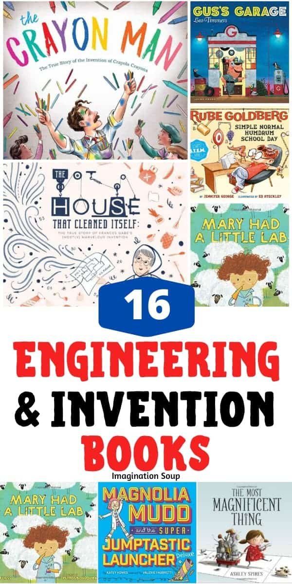 good engineering and invention picture books for children