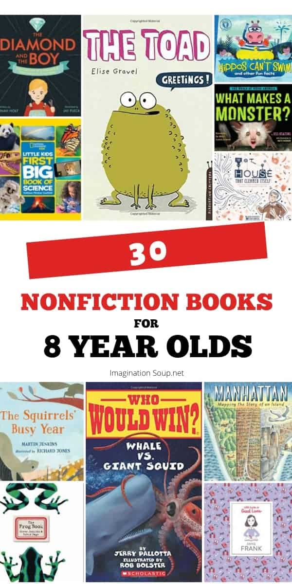 good nonfiction books for 8 year old boys and girls