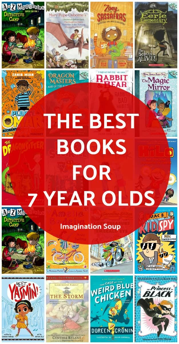 the best books for 7 year olds (2nd grade)