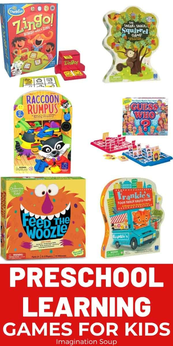 the best, top recommended preschool learning games for preschoolers