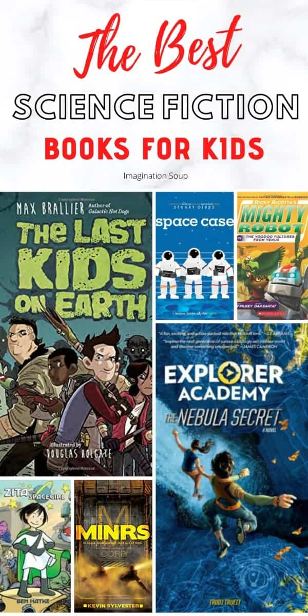 the best science fiction chapter books for kids