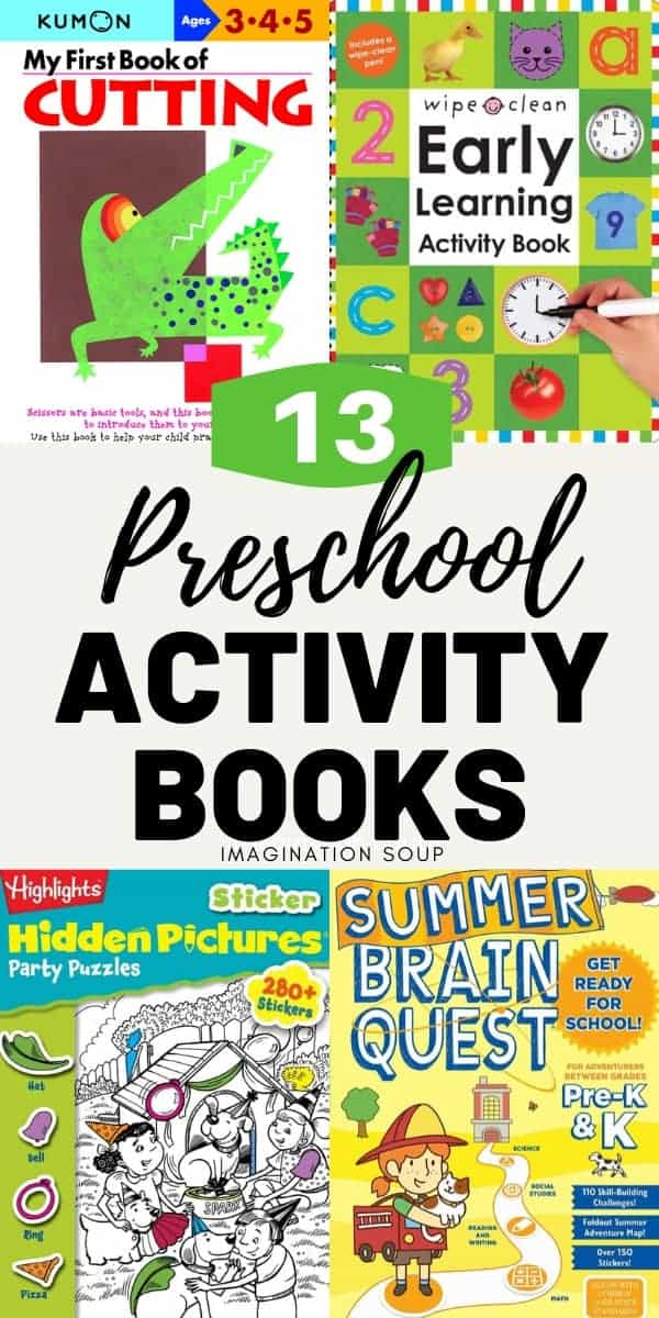 preschool activity books for kids ages 3 to 5