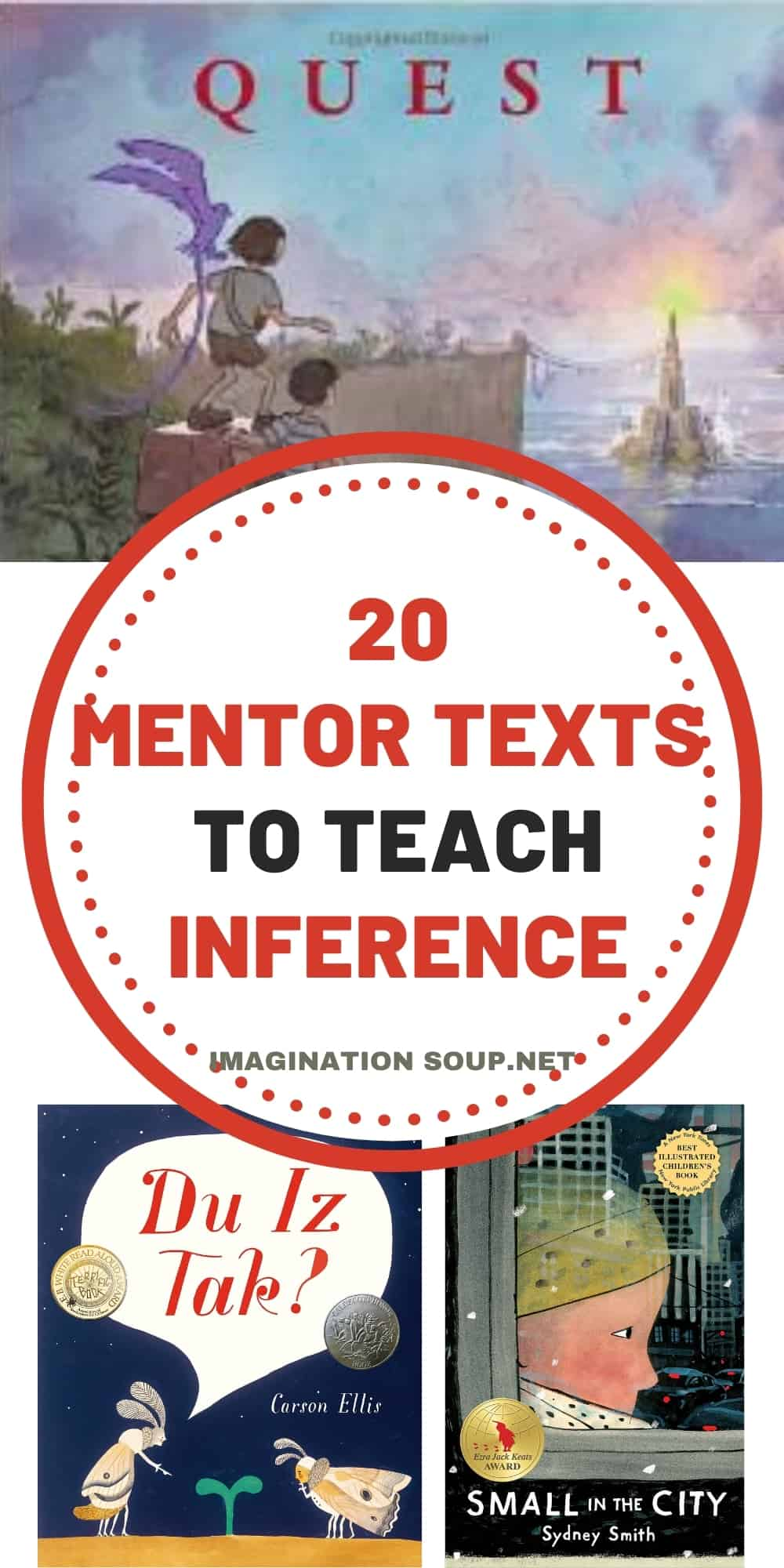 20 mentor texts to teach inference