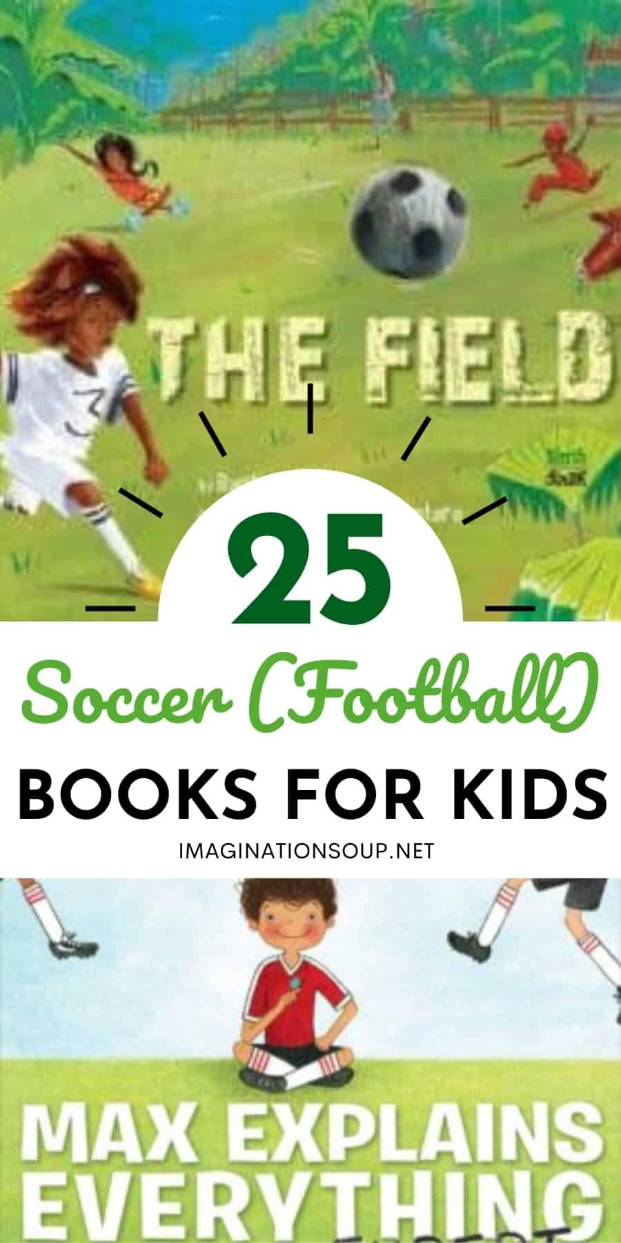 25 soccer books for kids