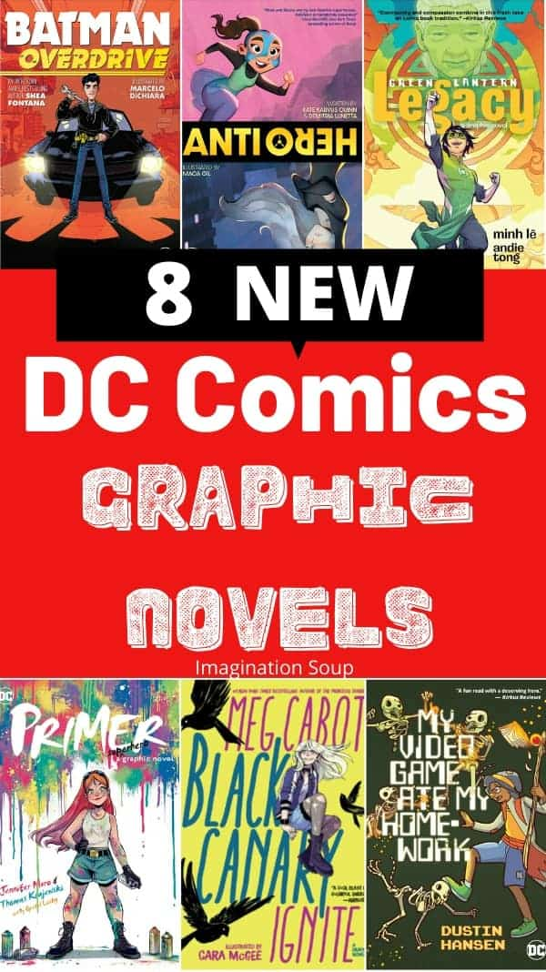 8 new DC Comics graphic novels, 2020