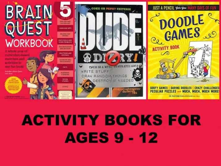 Activity Books for Kids Ages 8 to 12