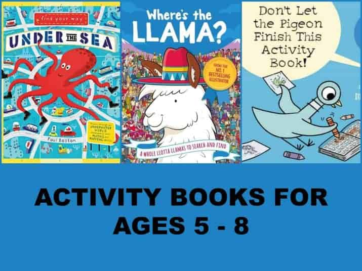 Activity Books for Kids kindergarten to 3rd grade