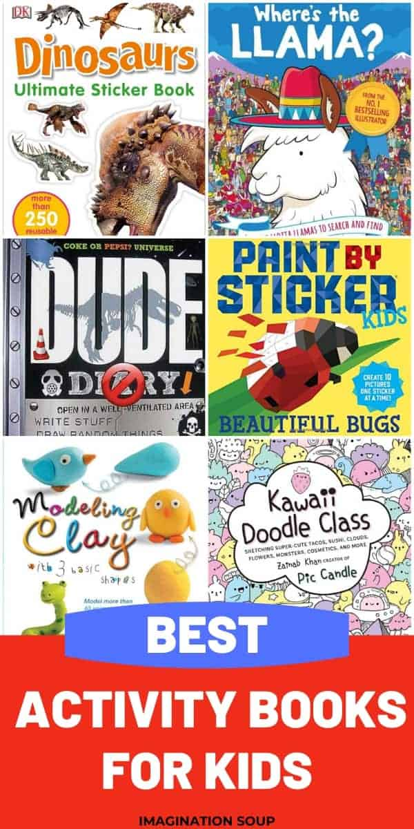 BEST activity books for kids