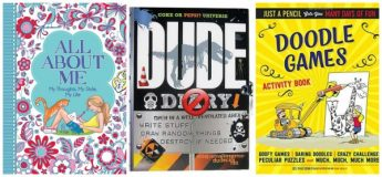 Top Activity Books for Kids Ages 8 to 12