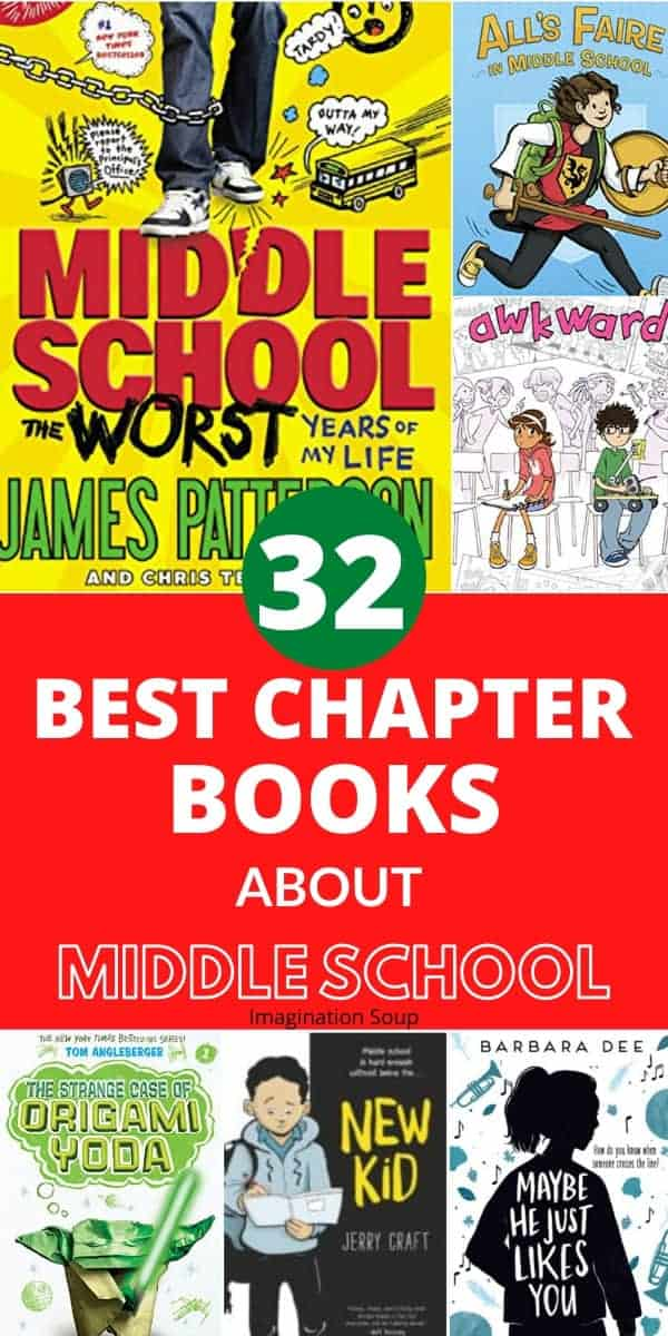 best chapter books about middle school
