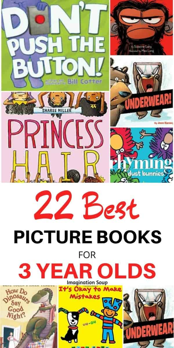 best picture books for 3 year olds (preschool books)