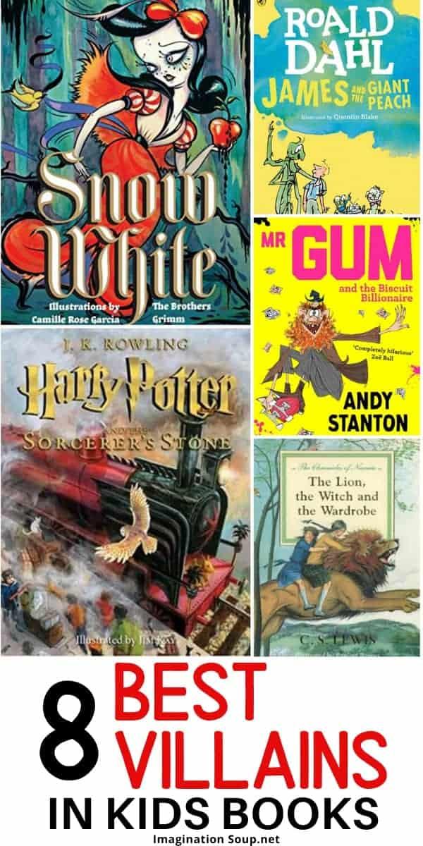 Best villains in children's books
