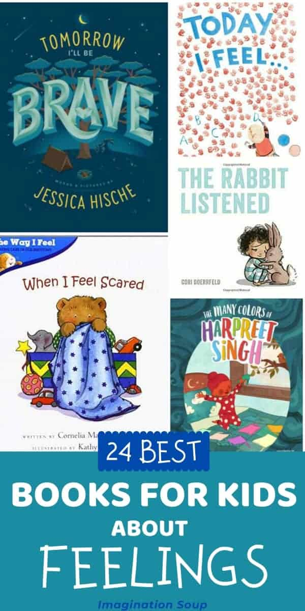 children's picture books about feelings and emotions