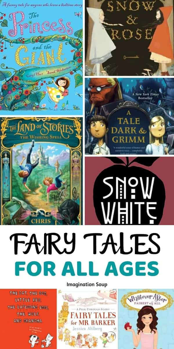 80 fairy tales for all ages (picture and chapter books)
