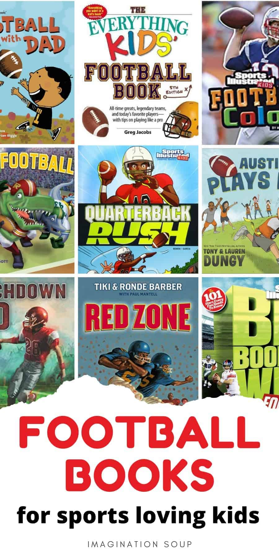 football books for sports loving kids