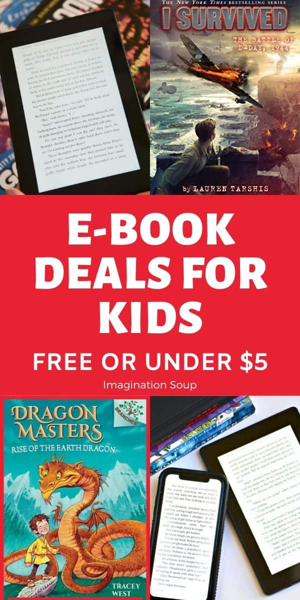 great ebook deals for kids of all ages (free or under $5)