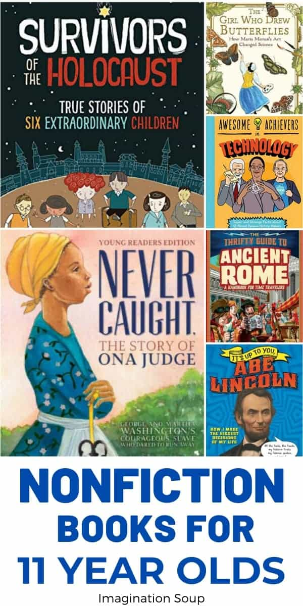 the best nonfiction books for 11 year olds