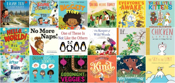 32 New Picture Books, February and March 2020