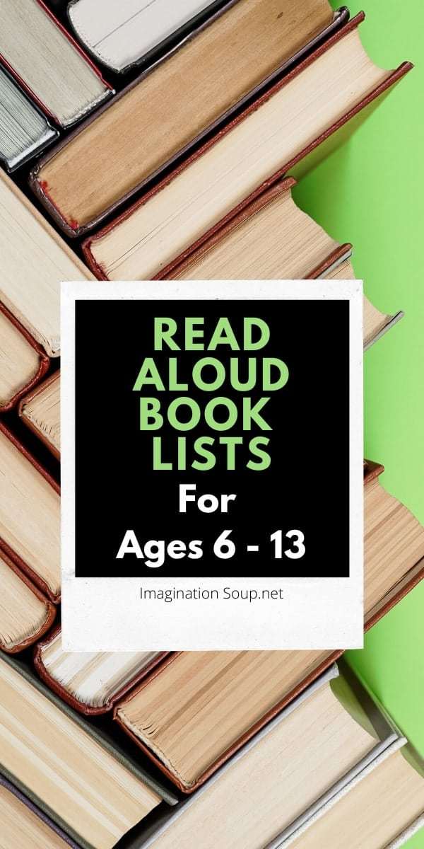 read aloud book lists for kids in elementary and middle school